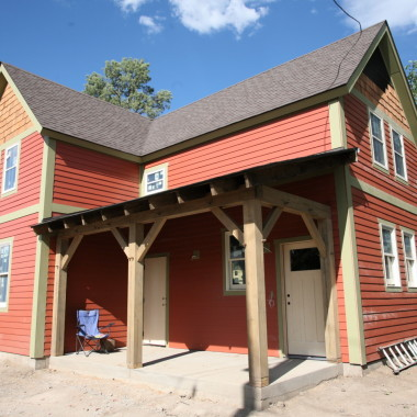 Timber frame barn/carriage house