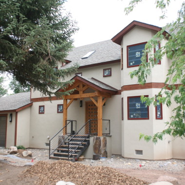 Black Canyon Builders, timber frame home, Durango, CO