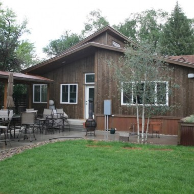 Black Canyon Builders, Durango, CO Significant Remodel Historic Home, landcaping