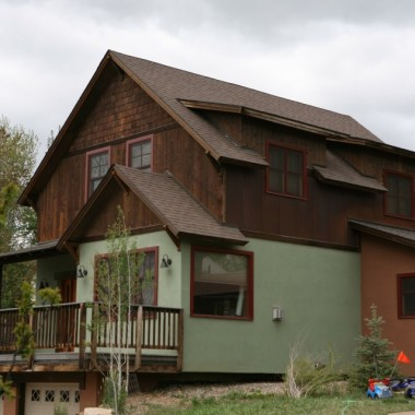 Black Canyon Builders, Durango, CO custom sustainable home, exterior