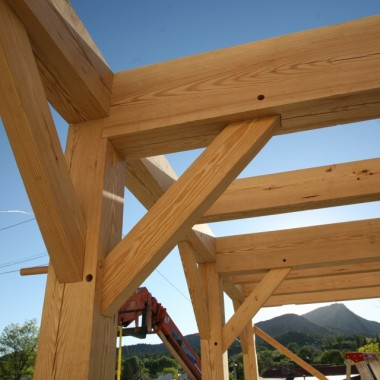 Black Canyon Builders, Durango, CO, Timber frame joinery and details