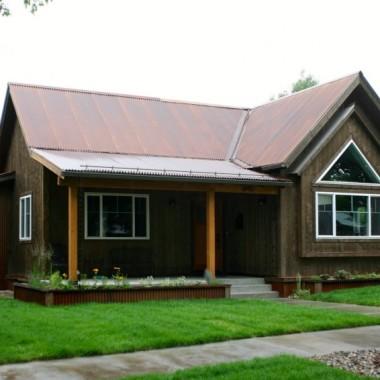 Black Canyon Builders, Durango, CO Significant Remodel Historic Home, historic facade